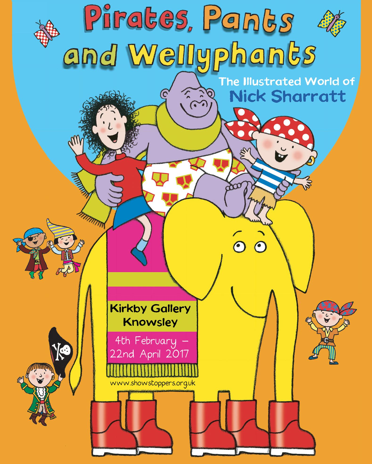 Pirates, Pants and Wellyphants