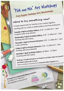 Pick and Mix Art Workshops