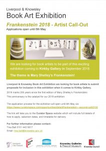 Book artists call out Five exhibition