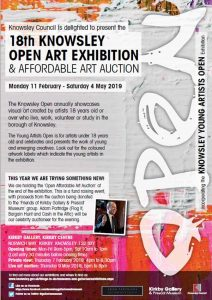 Knowsley Open Art Exhibition & Art Auction