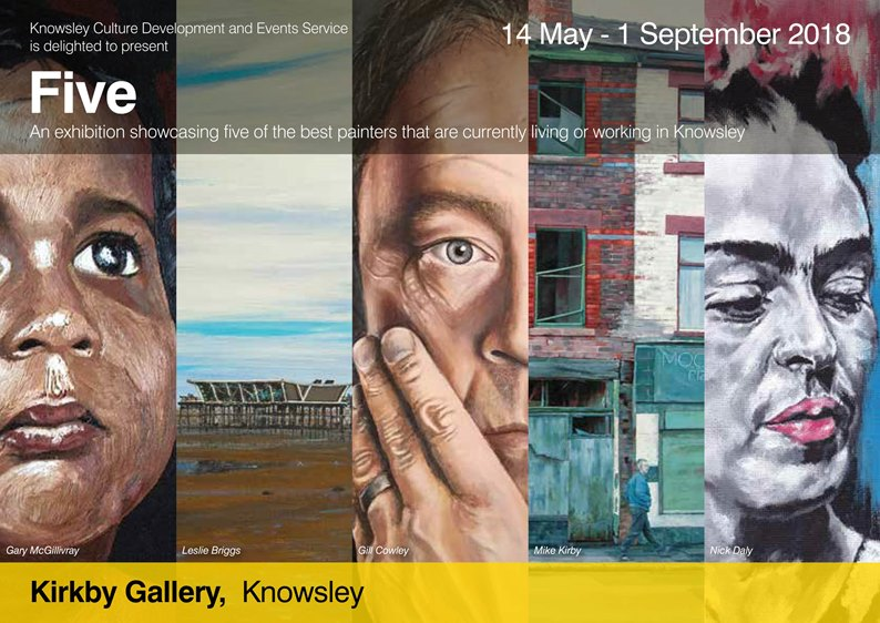 Five exhibition Kirkby Gallery