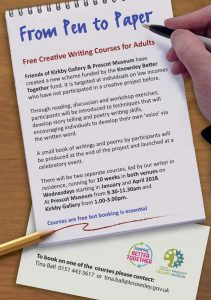 From Pen to Paper Creative Writing Course