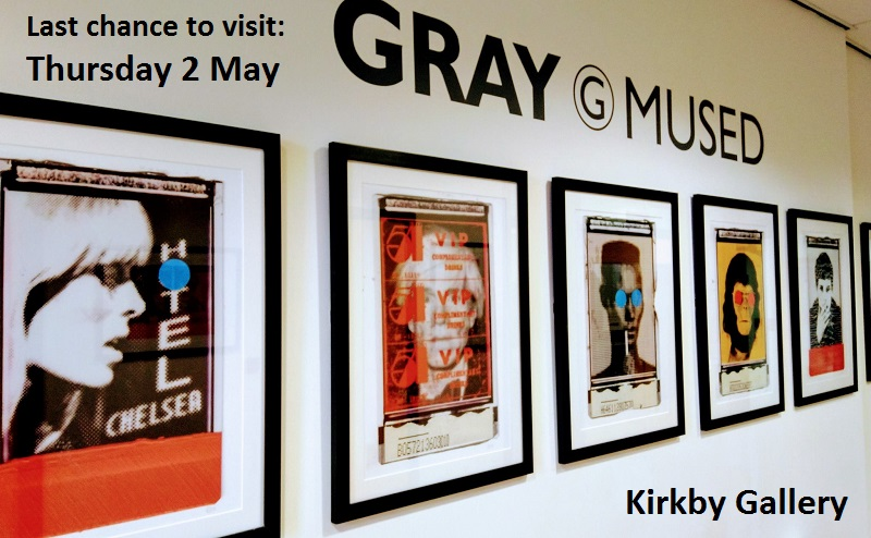 Gray Mused at Kirkby Gallery